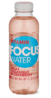 Focus Vitamin Water Relax