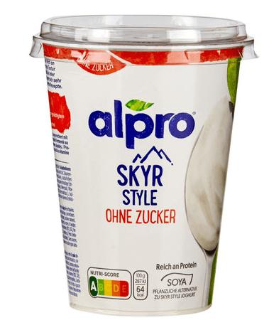 Alpro Jogurt Skyr Natur ohne Zucker