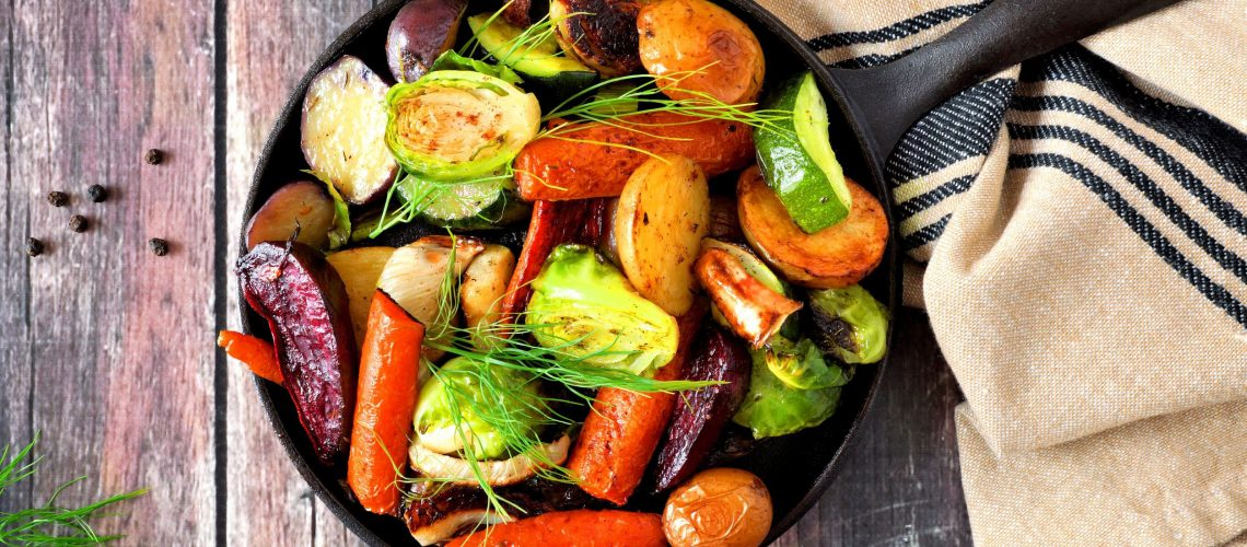 Obst und Gemüse: Gesunde Ernährung